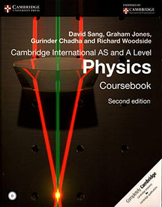 Cambridge International AS and A Level Physics Coursebook with CD-ROM (Cambridge International Examinations)