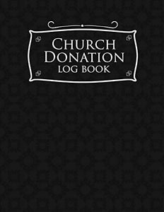 Church Donation Log Book