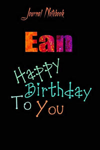 Ean: Happy Birthday To you Sheet 9x6 Inches 120 Pages with bleed - A Great Happybirthday Gift