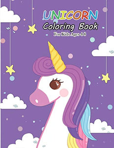 Unicorn Coloring Book for Kids Ages 4-8: Magical Unicorn Coloring Books for Girls (Books for Kids)