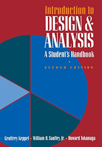 Introduction to Design and Analysis: A Student's Handbook (Series of Books in Psychology)