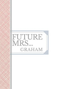 GRAHAM: Future Mrs Graham: 90 page sketchbook 6x9