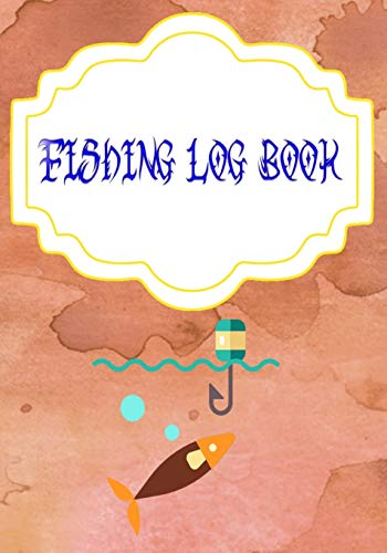 Fishing Log Book Gmeleather: Finder Fishing Logbook 110 Pages Size 7 X 10 Inch Cover Matte | Notes - Pages # Notes Very Fast Print.