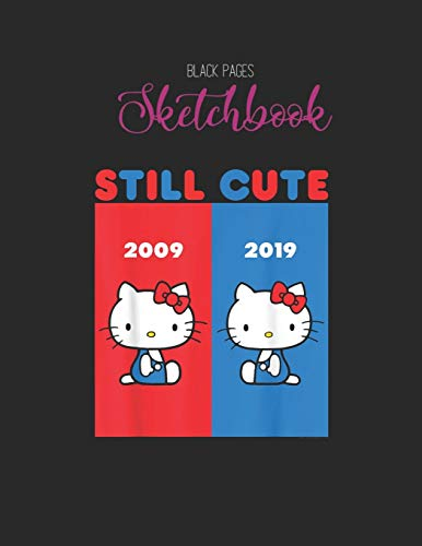 Black Paper SketchBook: Im Into Fitness Whole Package In Your Mailbox Funny Mailman Designed BLACK PAPER Sketch Book for Drawing Sketching and Writing ... Workout Marble Size Kawaii Kitty 8.5inx11in