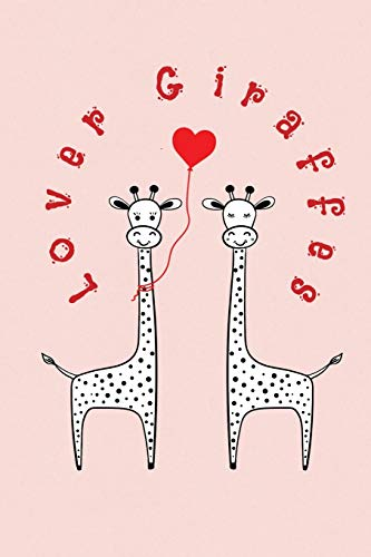 Lover Giraffes: Valentine's Day Gift • ToDo Notebook in a cute Design • 6