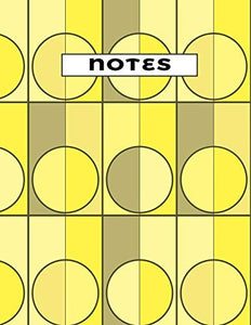 60's Stylized Notebook: (Yellow)