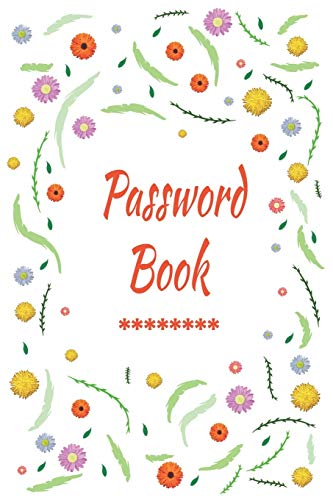 Password book: Logbook To Protect Usernames PIN Book, Website Organizer, Logging Book, Remember Webs, Pin, password keeper, lock book