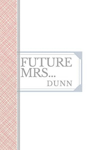 DUNN: Future Mrs Dunn: 90 page sketchbook 6x9
