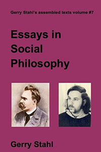Essays In Social Philosophy