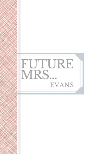 EVANS: Future Mrs Evans: 90 page sketchbook 6x9 sketchbook