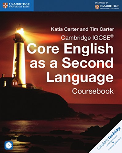 Cambridge IGCSE® Core English as a Second Language Coursebook with Audio CD (Cambridge International IGCSE)