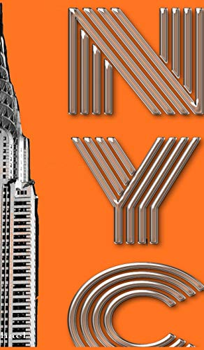 Iconic New York City Chrysler Building $ir Michael designer creative drawing journal