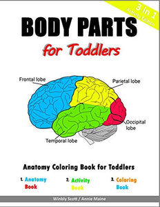 Body Parts for Toddlers: Anatomy Coloring Book for Toddlers