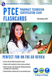 PTCE - Pharmacy Technician Certification Exam Flashcard Book + Online (Flash Card Books)