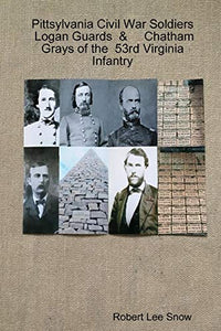 Pittsylvania Civil War Soldiers: Logan Guards & Chatham Grays of the 53rd Virginia Infantry