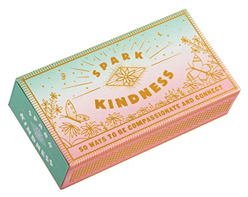 Spark Kindness: 50 Ways to Be Compassionate and Connect (Inspirational Affirmations for Being Kind, Matchbox with Kindness Prompts)