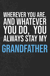 Wherever you are, And whatever you do,  You always Stay My Grandfather
