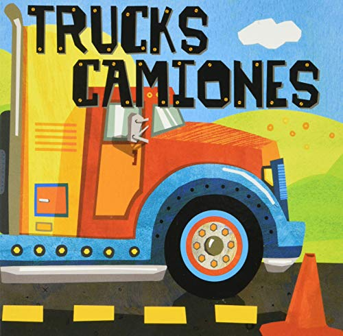 Trucks/Camiones (Amazing Actions Bilingual) (English and Spanish Edition)