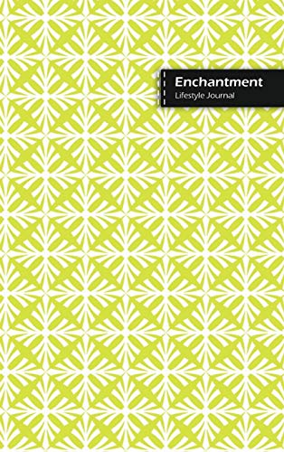Enchantment Lifestyle Journal, Blank Write-in Notebook, Dotted Lines, Wide Ruled, Size (A5) 6 x 9 In (Yellow)