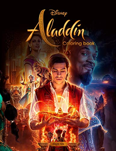 Aladdin Coloring Book