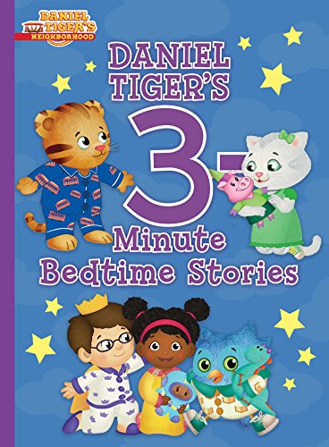 Daniel Tiger's 3-Minute Bedtime Stories (Daniel Tiger's Neighborhood)