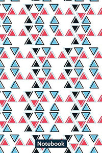triangular pattern  design: notebook