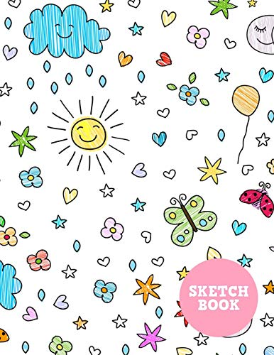 Sketch Book: Cute Note Pad for Drawing, Writing, Painting, Sketching or Doodling - Art Supplies for Kids, Boys, Girls, Teens Who Wants to Learn How to Draw - Vol. 00229