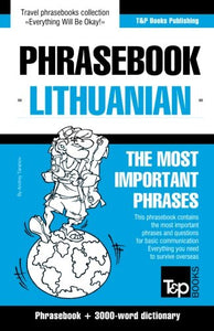 English-Lithuanian phrasebook & 3000-word topical vocabulary