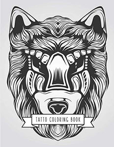 Tatto Coloring Book: Tatto Gifts for Kids 4-8, Girls or Adult Relaxation | Stress Relief Turkey lover Birthday Coloring Book Made in USA