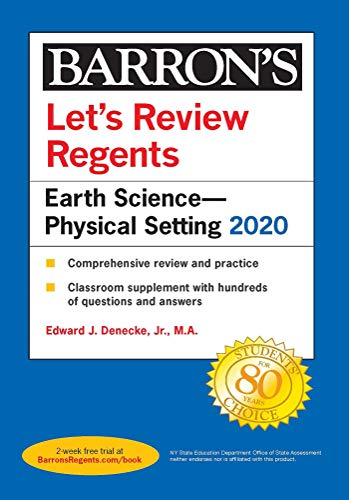 Let's Review Regents: Earth Science--Physical Setting 2020 (Barron's Regents NY)