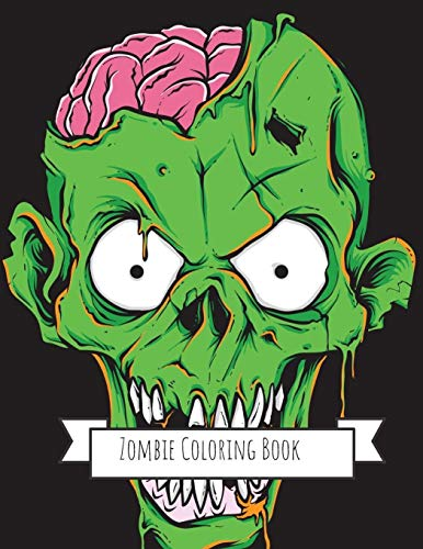 Zombie Coloring Book: Zombie Gifts for Kids 4-8, Boys, Girls or Adult Relaxation | Stress Relief Zombie lover Birthday Coloring Book Made in USA