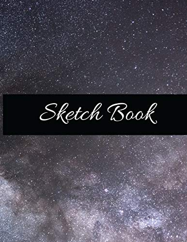 Sketch Book:  Large Artistic Creative Colorful Notebook for Drawing, Writing, Painting, Sketching or Doodling | Gift Idea for Artists, Students and Kids: 8.5