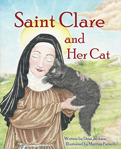 Saint Clare and Her Cat