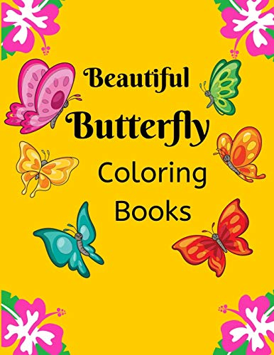 Beautiful Butterfly Coloring Books for Kids: 100 Pages 8.5x11 Inch Kids coloring Beautiful butterfly books, Butterfly Coloring Books, Super Fun Coloring Books For Kids