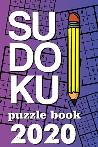 Sudoku Puzzle Book 2020: Sudoku puzzle gift idea, 400 easy, medium and hard level. 6x9 inches 100 pages.