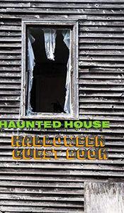 Halloween Haunted House 5x8 224 pages Guest Book
