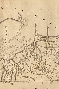 1806 Map of Delaware - A Poetose Notebook / Journal / Diary (50 pages/25 sheets) (Poetose Notebooks)