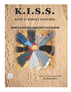 KISS..Keep it simple stiches: Simple socks crochet patterns