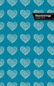 Heartstrings Lifestyle Journal, Blank Notebook, 288 Pages, Wide Ruled, 6 x 9 (A5) Hardcover (Royal Blue)