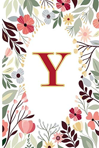Y: Cute Initial Monogram Letter Y To Do List Notebook