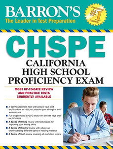 Barron's CHSPE: California High School Proficiency Exam (Barron's Test Prep CA)