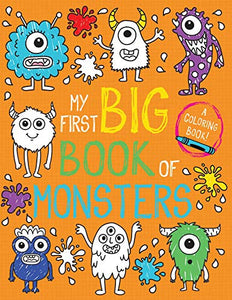 My First Big Book of Monsters (My First Big Book of Coloring)