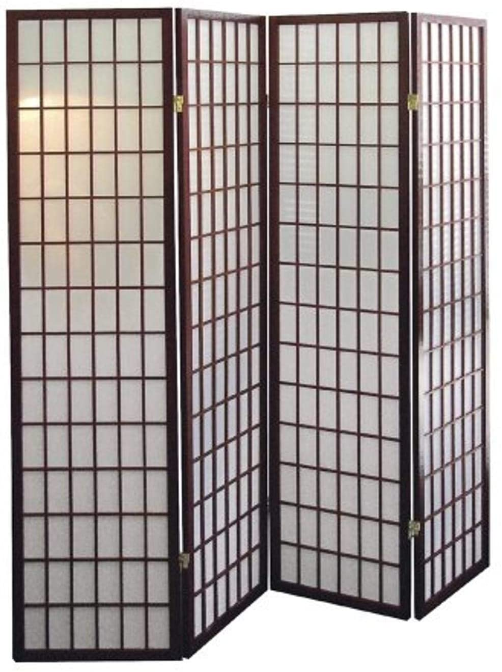 Cherry 4-Panel Shoji Screen