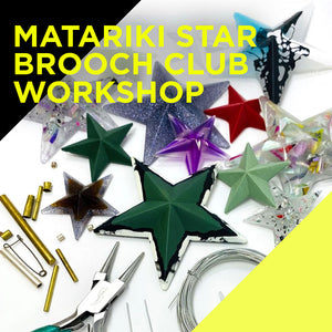 Sat 19 June, Matariki Star Brooch Club, Auckland