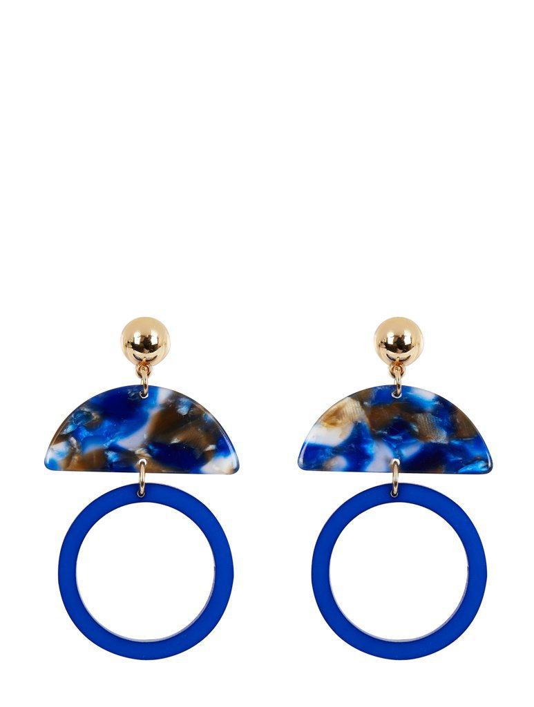 Empire: Lucy Perspex Earrings - Classier