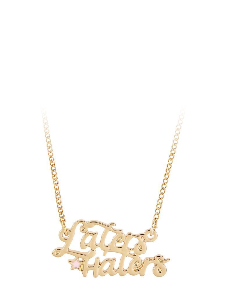 Empire: Laters Haters Necklace - Classier