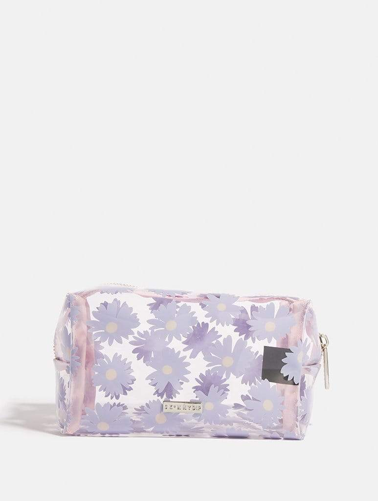 Empire: Lilac Daisy Azalea Makeup Bag - Classier