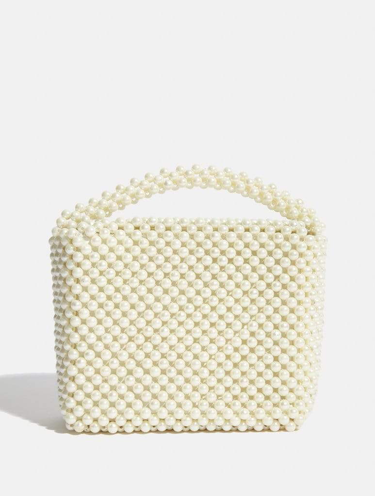 Empire: Gia Pearl Beaded Tote Bag - Classier