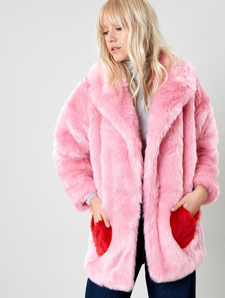 Empire: Heartbreaker Faux Fur Coat - Classier