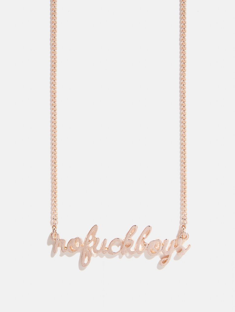 Empire: No F*ck Boys Necklace - Classier